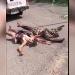 【閲覧注意】殺した兵士の死体を車やバイクで引きずり回すイカれた戦地。