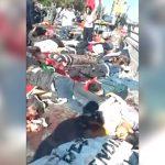 【衝撃映像】平和集会中に97人が死亡した自爆テロの瞬間。