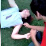 【衝撃映像】友達からドラッグを勧められて吸引した男、ヤバいことになってしまう・・・。