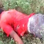 【衝撃映像】ロケットランチャーで処刑された男。
