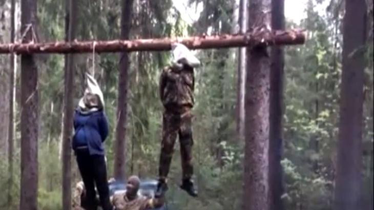 【閲覧注意】首を吊られて殺された夫婦。妻は妊娠していた・・・。