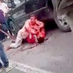 【衝撃映像】不倫した女、旦那にナイフで刺され血まみれになってしまう・・・。