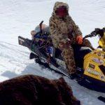 【超!閲覧注意】クマに顔を食われてしまった男・・・。