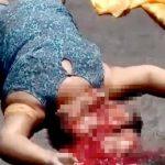 【閲覧注意】バスに頭を潰されて死んだ女性のグロ動画・・・。
