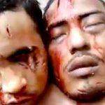 【閲覧注意】刑務所内の暴動により、3人の囚人が斬首されたグロ動画・・・。
