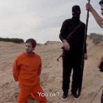 ISISの斬首映像を面白おかしくバカにしたパロディ動画。