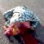【閲覧注意】バイク事故で胴体真っ二つになってしまった男性のグロ動画・・・。