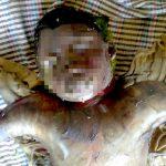 【閲覧注意】死んで数日経ちガスでパンパンに腫れ上がった死体を撮影したグロ画像集。