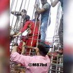 【閲覧注意】飛び降り自殺した女性、金属の棒に突き刺さってしまう・・・。