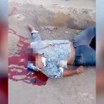 【閲覧注意】バイク事故で首が切断されてしまった男のグロ動画・・・。