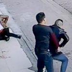 【衝撃映像】路上で口論となった相手がヤバイ奴だった結果・・・。
