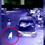 【衝撃映像】小さな女の子、車の死角に入って轢かれてしまう・・・。