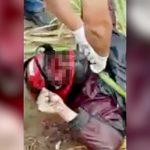 【閲覧注意】バイク事故で死亡した男性のヘルメットを外してみた結果・・・。