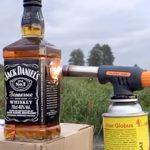 DQN「ジャック・ダニエルの瓶をバーナーで温めて飲んだろ!」→ 大爆発・・・。