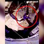 貯蔵タンクで作業していた男性、足場が崩れて底に落下してしまうアクシデント映像。