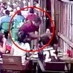 【衝撃映像】彼氏と喧嘩した女性、銃で顔を撃たれてしまう・・・。