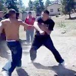 見てて清々しいほど正統派な殴り合いをする男たち。