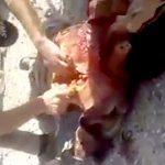 【閲覧注意】ISISの男、イラク兵に心臓をえぐり出されてしまうグロ動画・・・。
