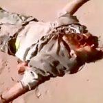 【閲覧注意】銃で何発も撃たれて頭を破壊された男のグロ動画・・・。