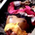 【閲覧注意】列車に胴体真っ二つにされて死んだ女性のグロ動画。