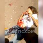 【閲覧注意】夫に腹を刺された女性、腸が飛び出してしまう・・・。