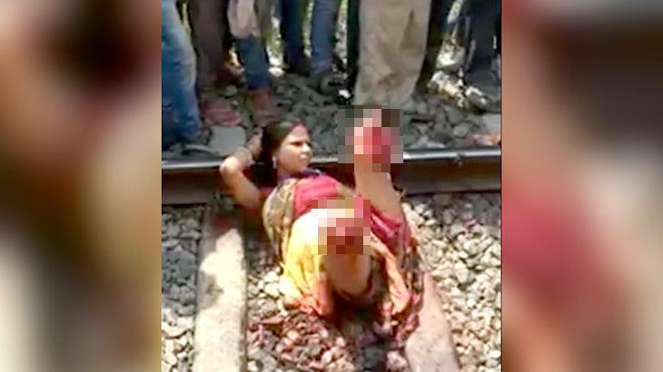 【閲覧注意】列車に両脚を切断された女性、意外と冷静・・・。