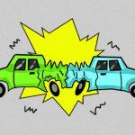 【閲覧注意】トラックに突っ込んだ車に乗っていた人間の顔、潰されてしまう・・・。