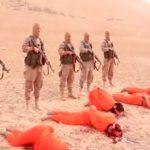 【閲覧注意】ISISに頭を撃たれて処刑される5人の男性。頭が破裂してる・・・。