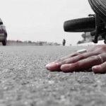 【閲覧注意】事故で死んだ男性、とんでもない姿になってしまったグロ動画。