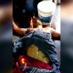 レイプ犯の男、刑務所内で生きたまま燃やされてしまう。