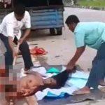 【閲覧注意】トラックに轢かれて死亡した女性の死体回収方法、めっちゃ雑・・・。