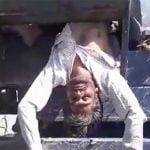 【閲覧注意】収穫用の農業機械に巻き込まれて死亡した男性のグロ動画。