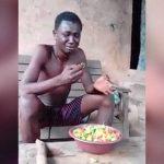 泥棒の男、罰として「器いっぱいの胡椒の実を食べる」刑に処されてしまう。