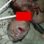 【閲覧注意】ライバルギャングの首をナイフで切り、スコップを何度も突き刺すグロ動画。