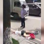 まったく面識のない女の子の首を切って殺した男の事件映像。