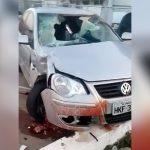 【閲覧注意】サイクリストの男性、車に轢かれてよくわからない状態となって死亡したグロ動画。