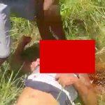 【閲覧注意】鎌で足と首を切断するブラジルのギャング。