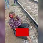 【閲覧注意】列車に轢かれて自殺をはかった男、右腕が切断されるも生き延びてしまう・・・。