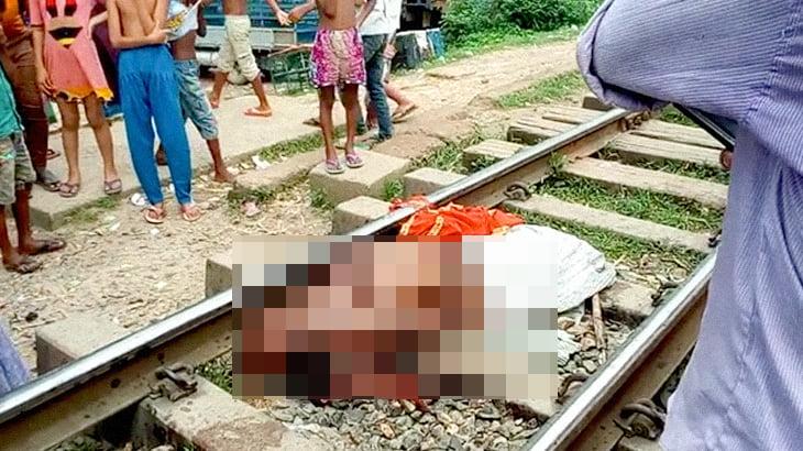 【閲覧注意】列車に轢かれた女性を撮影した高画質グロ動画。