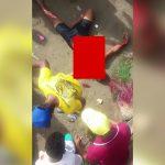 【閲覧注意】暴徒と化したブラジルの住民たち、ギャングと同じような殺し方をしてしまうグロ動画。