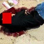 【閲覧注意】元夫の男、元妻の新しい夫を殺してしまう事件映像。