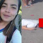 【閲覧注意】バイクに乗っていた女の子、ヘルメットごとタイヤに潰されて死亡したグロ動画。