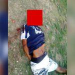 【閲覧注意】ライフルで殺された男性の顔、大きな穴が開いてしまったグロ動画。