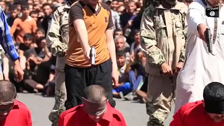 【超!閲覧注意】頭を撃って処刑するシーンを集めた6分間のグロ動画。