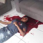 【閲覧注意】ライバルギャングの自宅を襲撃して銃で撃ち殺す事件映像。