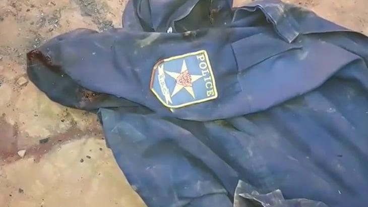 【閲覧注意】ギャングに殺され燃やされてしまった警察官。