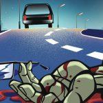 【閲覧注意】事故で死亡した女性の身体、グチャグチャ過ぎるだろ・・・。