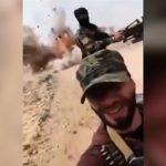 自撮り男「いま戦場にいまーすwww」→ 後ろを走る車が爆破される・・・。