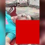 【閲覧注意】2人の強盗、1台の車を襲撃するもののショットガンで撃たれ脳が飛び出て死んだグロ動画。