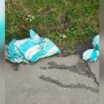 【閲覧注意】土嚢袋に詰められた女性のバラバラ死体。